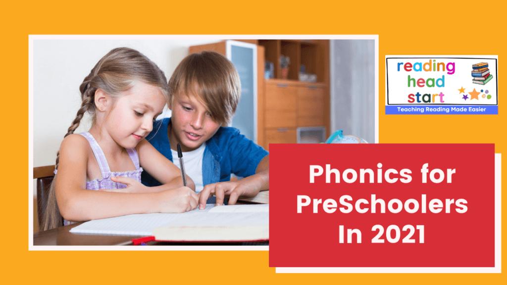 phonics for preschoolers - 7 buzz words secrets